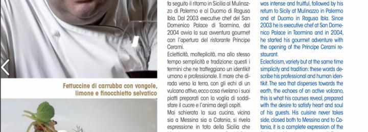 Massimo Mantarro nella Guida 2019  Euro-Toques Italia