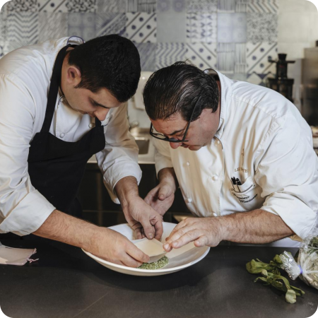 sous chef- Francesco Gambacorta- cucina- preparazione